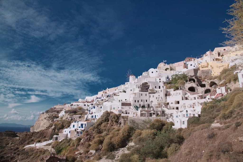 Santorini Athinios Port to your hotel